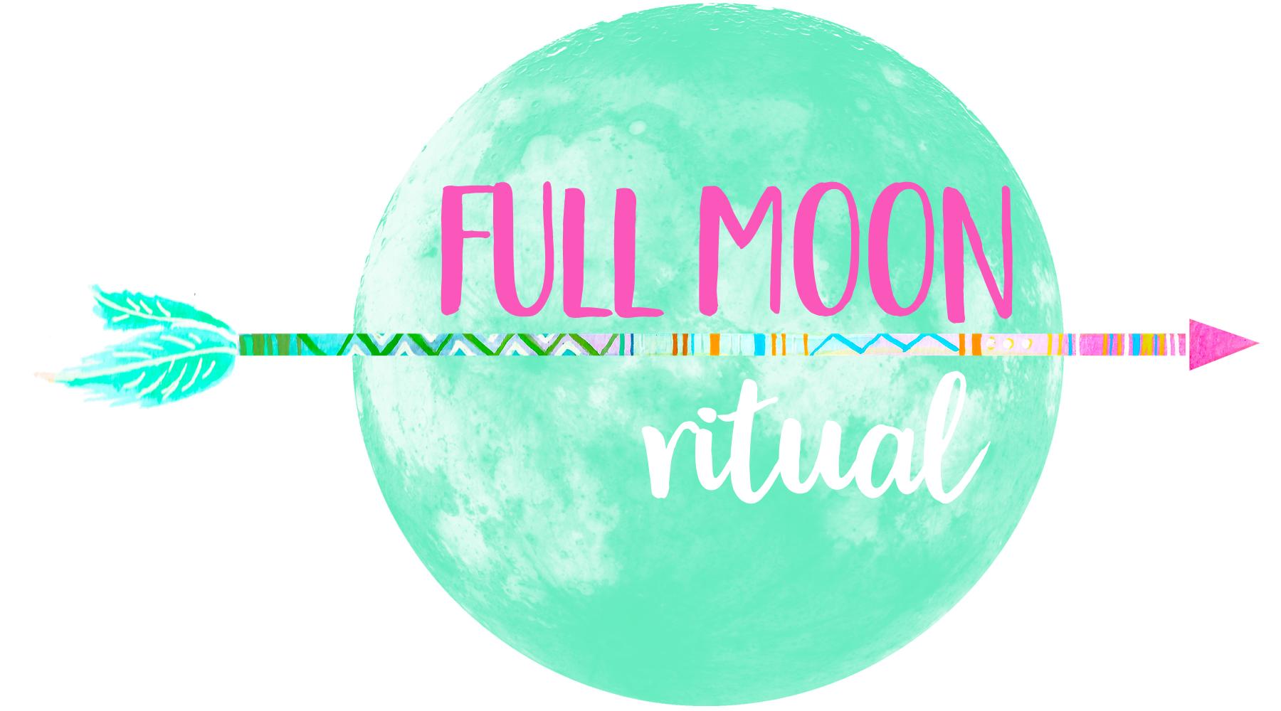 full moon yoga - self-care, yoga pose, positive affirmation, breathing technique